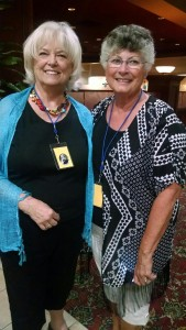 Cheri Beck and Susi Sower