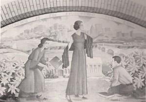 old FHS mural